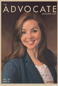 Jennifer Brun in The Advocate